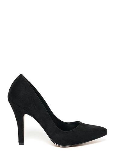 Kuum İnce Topuklu Ayakkabı Siyah